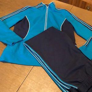 Blue  St John's Bay Active 2 Pc. Track Suit Set M
